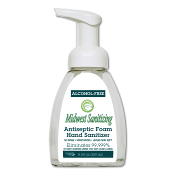 Midwest Sanitizing 250ML Hand Sanitizer